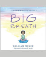 "Cover of ""Big Breath"" with a person sitting and meditating"