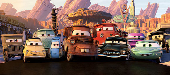 Cars - The Movie