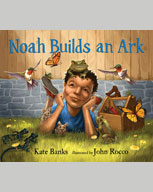Book cover of Noah Builds An Ark