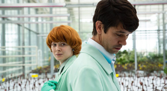 Ben Whishaw as Chris and Emily Beecham as Alice in Little Joe