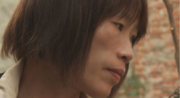 Liu Ximei as herself in the film Ximei