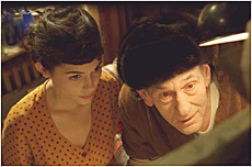Amelie and the Painter