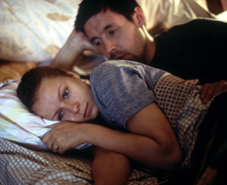 Samantha Morton as Sarah and Paddy Considine as Johnny