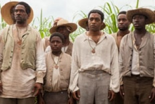 A scene from 12 Years a Slave with Chiwetel Ejiofor as Solomon