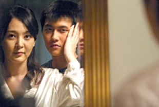Lee Seung-yeon as Sun-hwa and Jae Hee as Tae-suk