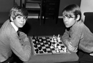 Neil and Peter age 14