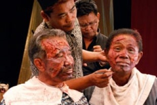 A scene from The Act of Killing