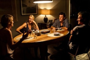 Robin Wright as Roz, Naomi Watts as Lil, James Frecheville as Tom and Xavier Samuel as Ian