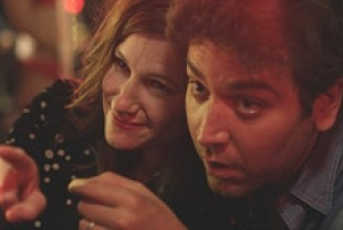 Kathryn Hahn as Rachel and Josh Radnor as Jeff