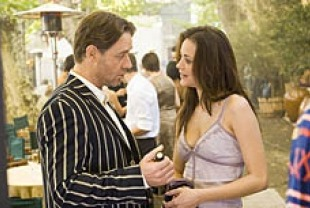 Russell Crowe as Max and Marion Cotillard as Fanny Chenal