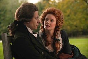 Ioan Gruffudd as William Wilberforce and Romola Garai as Barbara Spooner