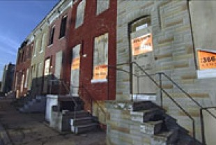 Foreclosed homes in Baltimore