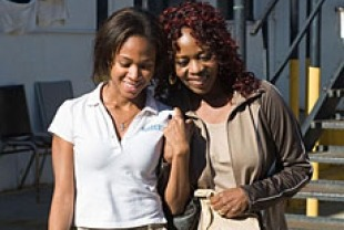 Nicole Beharie as Dee and Alfre Woodard as Alma