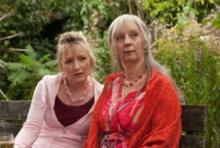 Lesley Manville as Mary and Ruth Sheen as Gerri