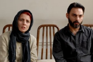 Leila Hatami as  Simin and Peyman Moaadi as Nader