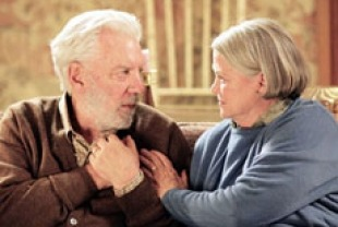 Donald Sutherland as Ronald and Louise Fletcher as Ruth