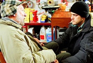 Donald Sutherland as Ronald and Joshua Jackson as Duncan