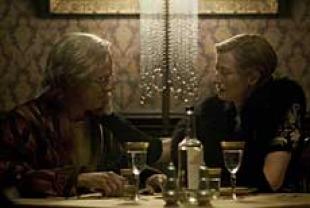 the curious case of benjamin button film reviews films tilda swinton as elizabeth and brad pitt as benjamin