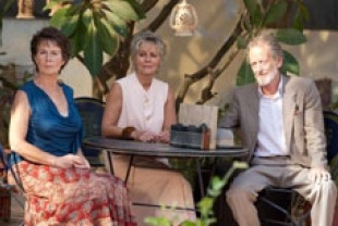 Cecile Imrie as Madge, Diana Hardcastle as Carol and Ronald Pickup as Norm width=