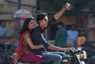 Tena Desae as Sunaina and Dev Patel as Sonny