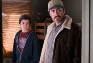 Jose Julian as Luis and Demian Bichir as Carlos Galindo