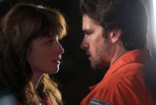 Rachel Nichols as Fiona and Jackson Hurst as Lyman