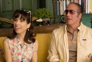 Sally Hawkins as Ginger and Andrew Dice Clay as Augie