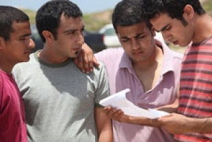 (far left) Mahmoud Shalaby as Naim