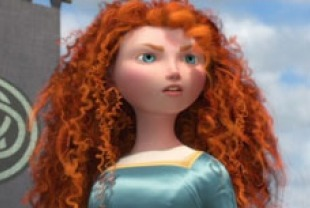 Merida voiced by Kelly Macdonald