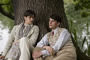 Ben Whishaw as Sebastian and Matthew Goode as Charles