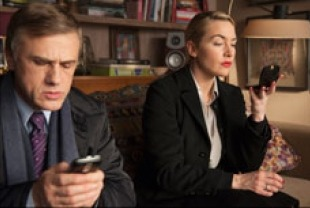 Christoph Waltz as Alan and Kate Winslet as Nancy