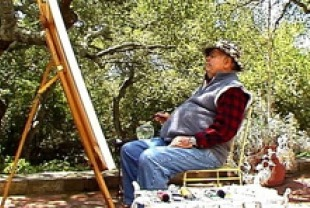 Jonathan Winters Painter