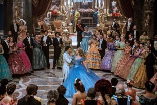 The Prince's Ball in Cinderella