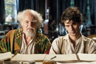 Jim Broadbent as Arys and Ben Whishaw as Ben