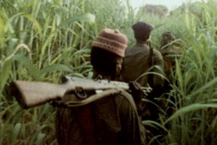A scene from Concerning Violence