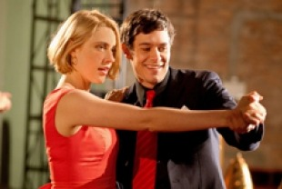 Greta Gerwig as Violet and Adam Brody as Charlie