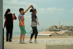 A scene from Dancing in Jaffa
