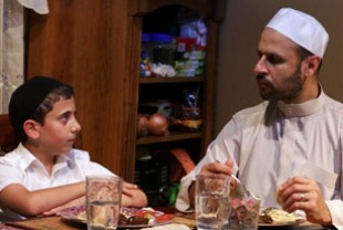 Muatasem Mishal as Daud and Maz Jobrani as Ahmed