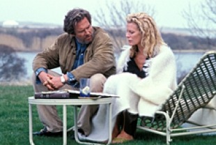 Jeff Bridges as Ted and Kim Basinger as Marion