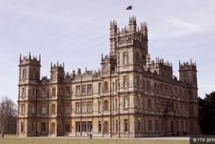 Highclere Castle as Downton Abbey