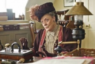 Maggie Smith as the Dowager Countess