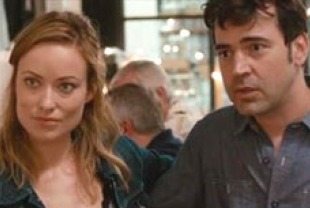 Olivia Wilde as Kate and Ron Livingston as Chris