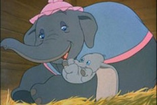 Dumbo's Mom and Dumbo