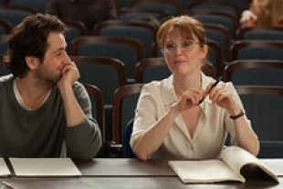 Michael Angarano as Jason and Julianne Moore as Linda