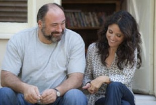 James Gandolfini as Albert and Julia Louis-Dreyfus as Eva