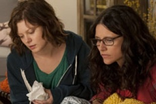 Tracey Fairaway as Ellen and Julia Louis-Dreyfus as Eva