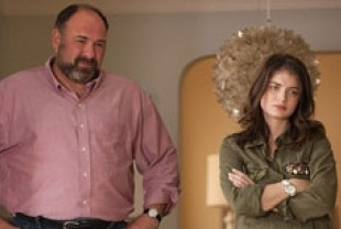 James Gandolfini as Albert and Eve Hewson as Tess