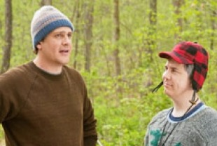 Jason Segel as Tom and Chris Parnell as Bill