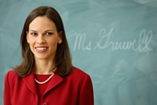 Hilary Swank as Erin Gruwell