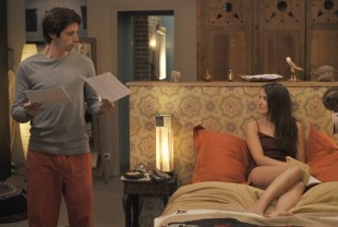 Raphael Personnaz as Arthur and Anais Demoustier as Marina